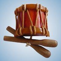 Bakelite Drum Pin
