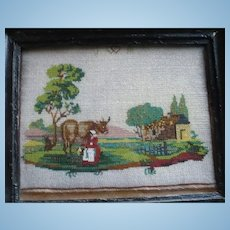 Beaded Pastoral Picture