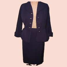 Navy 1940's Lady's  Suit
