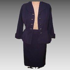 Navy 1940's Lady's  Suit