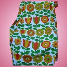 Flower Power 70's Fabric 2 yards