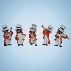 Black Musician Figurines