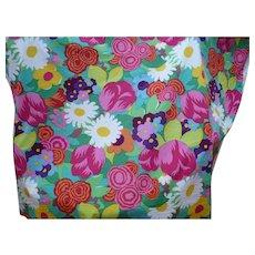 Brunschwig Fils Floral Fabric 4 yds