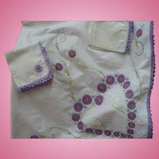 Embroidered Cloth Napkins