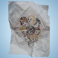Embroidered Childrens Faces