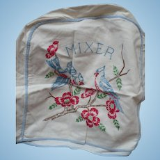 Embroidered Mixer Cover