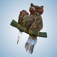 Funky Owl Pin