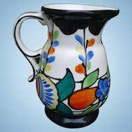 Czech Pottery Pitcher