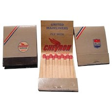 1950's United Airlines Matchbooks
