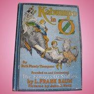 1922 Kabumpo Oz Book First Edition