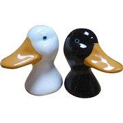 Ceramic Duck Salt Pepper Shakers