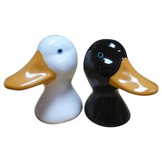 Ceramic Duck Salt Pepper Shakers
