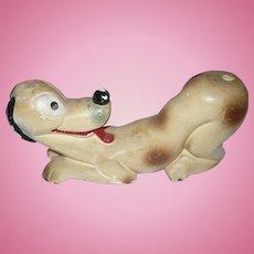 Pluto Plaster Figure