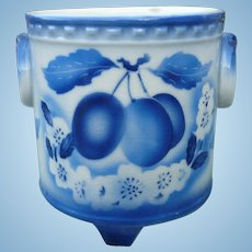 Czech Blue White Planter