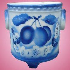 Czech Blue White Planter
