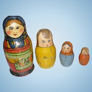 Wooden Nesting Dolls