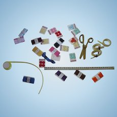 Miniature Sewing Notions