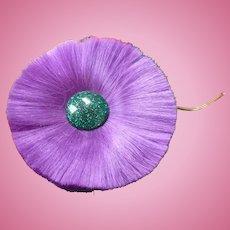 Hattie Carnegie Fiber Flower