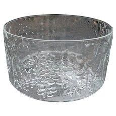 Finland IIttala Glass Fruit Bowl