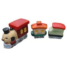 Ceramic Train Condiment Set