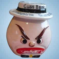 Ceramic Cuss Bank