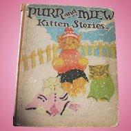 Purr Miew Kitten Stories Book
