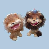 Ceramic Funny Lions Figurines