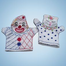 Hand Embroidered Puppets