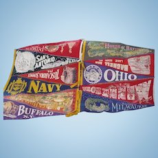 Folk Art Pennant Hanging