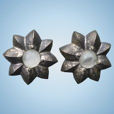 Givenchy Flower Earrings