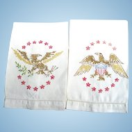 Eagle Embroidered Towels