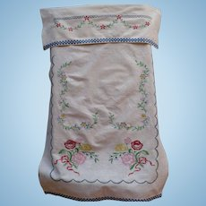 Embroidered Over Towel