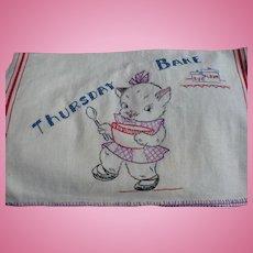 Thursday Bake Towel