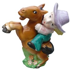 Cowboy Horse Western Salt & Pepper Set