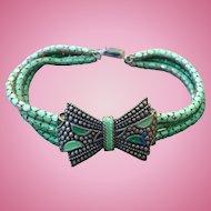 Metal Mesh Deco Bracelet