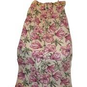 Floral Cotton Drapery Panels