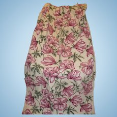 Floral Cotton Drapery Panels