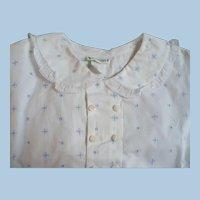 Childs Eyelet Shirt 1940's