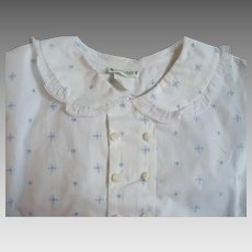 Childs Eyelet Shirt 1940's