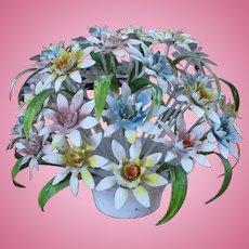 Metal Flower Centerpiece