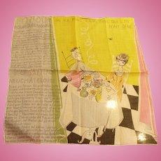 Fondue Handkerchief