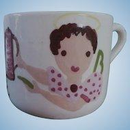 Cleminson Pottery Divorce Cup