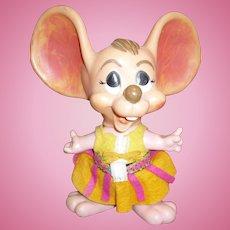 Topo Gigio Girl Mouse Bank