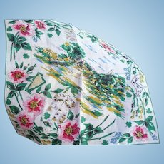 Irish Castle Handkerchief