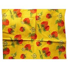 Strawberry  Fabric Panels