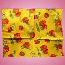 Strawberry  Fabric Panels
