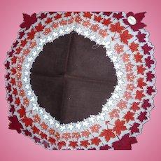 Round Leaf Handkrchief