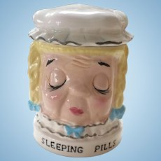 Shafford Sleeping Pills Jar