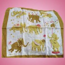 Republican Elephant Handkerchief
