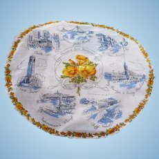 San Francisco Round Handkerchief